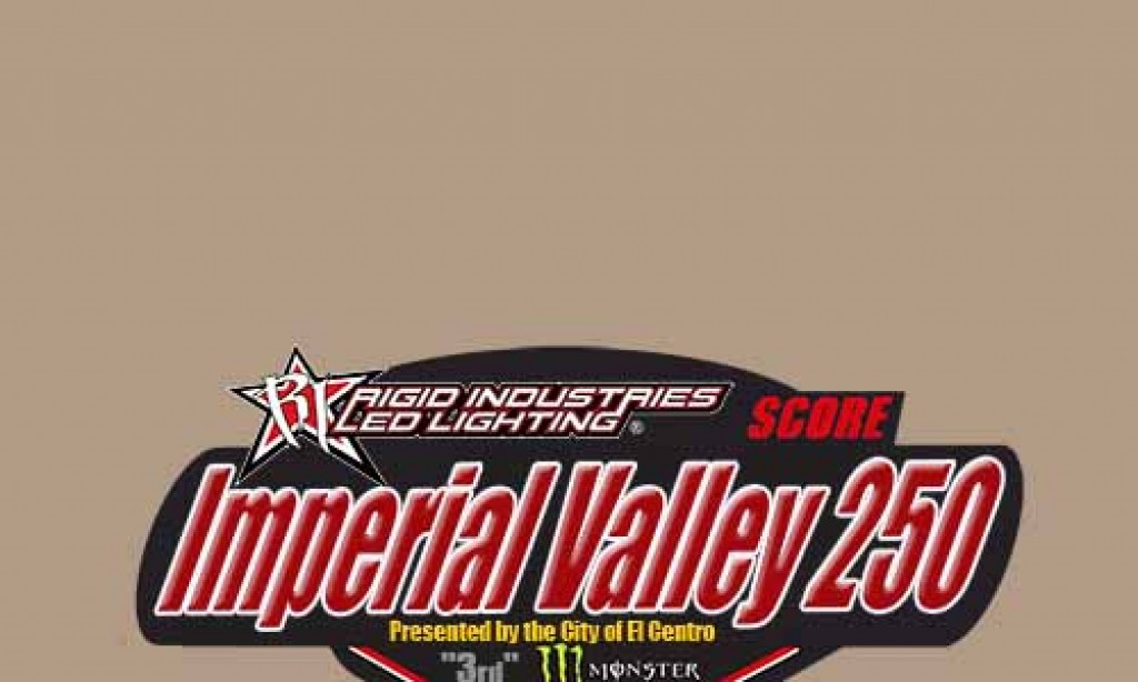 Racer Schedule of Events – The Rigid Industries Imperial Valley 250