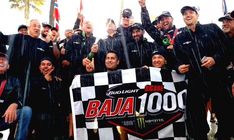 48th Bud Light SCORE BAJA 1000 UNOFFICIAL Trophy Truck Results