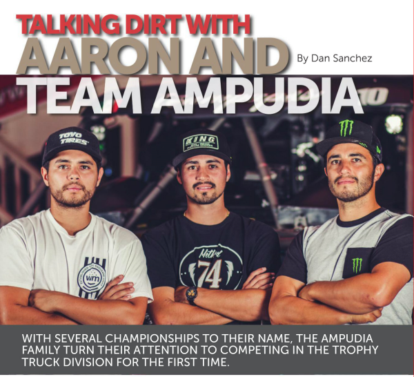 Talking Dirt with Aaron Ampudia