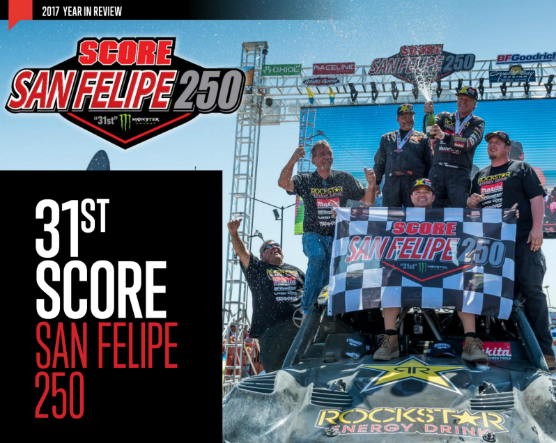 Review of the 2017 SCORE San Felipe 250