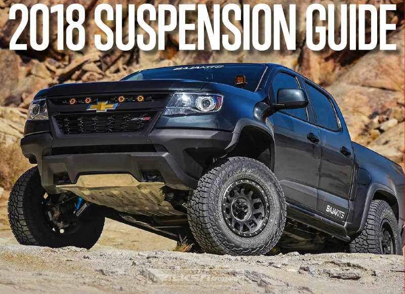 2018 Off Road Suspension Guide