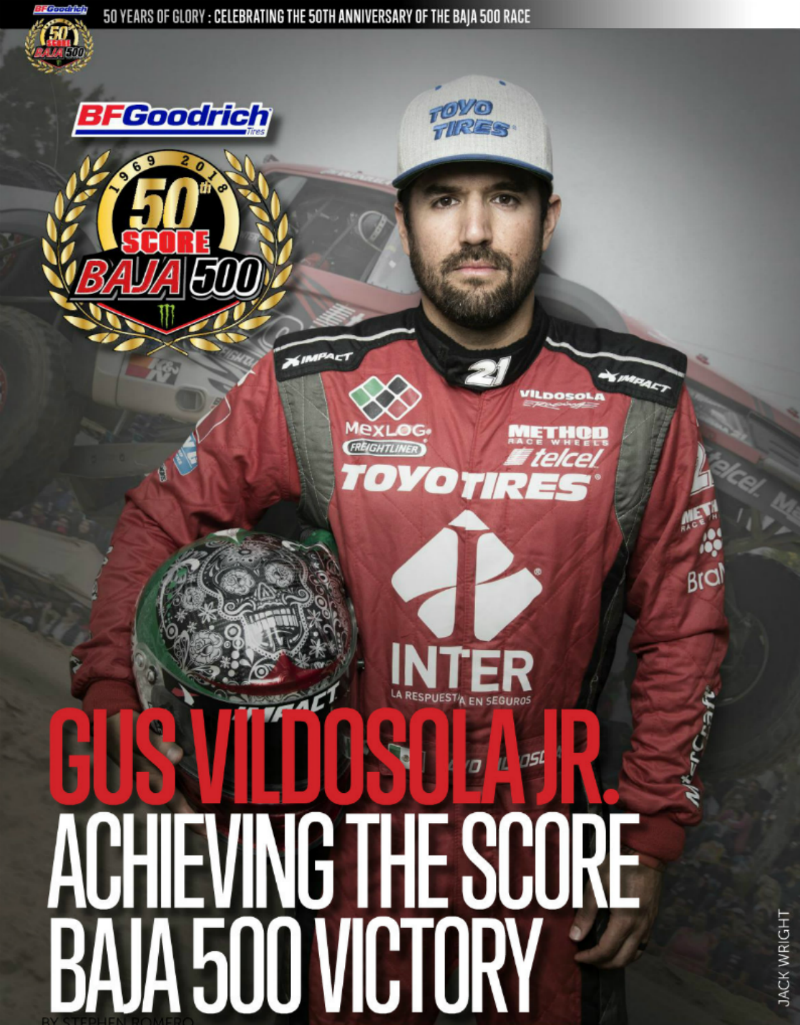 Vildosola Jr Winning the Baja 500