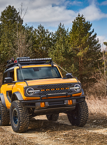 Ford Introduces the 2021 Bronco