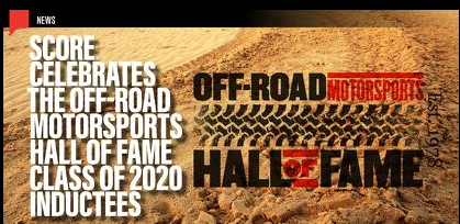 2020 Off-Road Hall of Fame Class Inductees