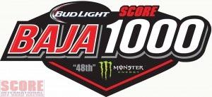 official score baja 1000 logo