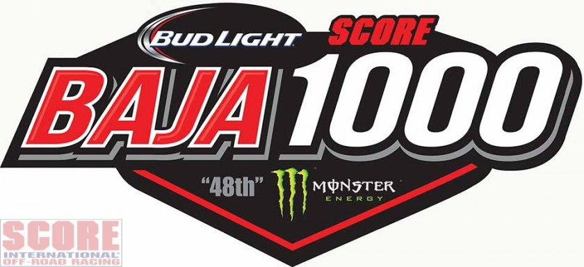 official score baja 1000 logo