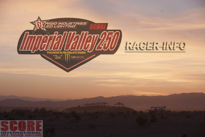 Rigid Industries SCORE Imperial Valley 250
